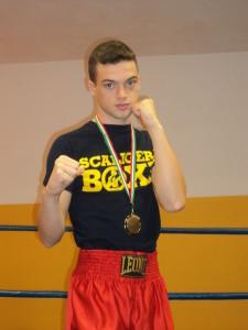 Valerio Gega pugile Elité 69 kg campione regionale youth 2017